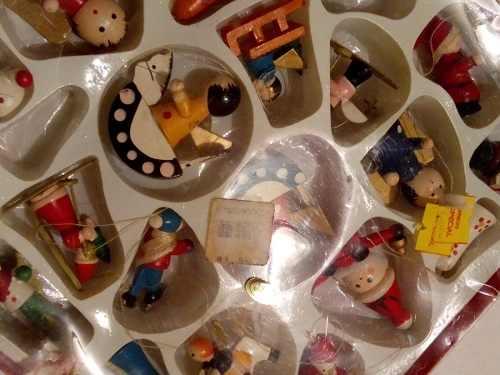 Adornos Para Arbol De Navidad (en Madera) *