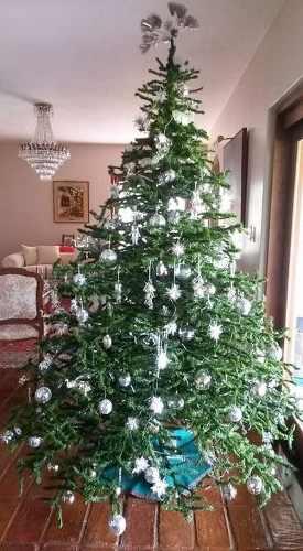 Arbol De Navidad Y Adornos
