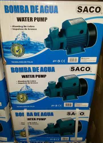 Bomba De Agua 1 Hp Marca Saco