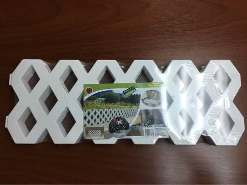 Cercas Decorativas De Plástico 240 X 31 Cm. (ht-606)