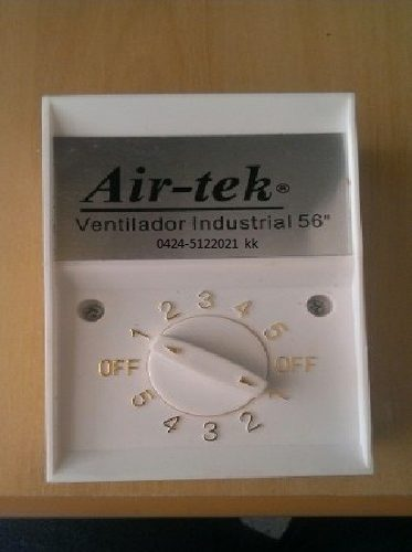 Control De Velocidades Para Ventilador De Techo Air-tek