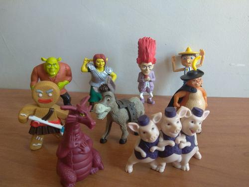 Figuras De Películas Shrek Forever (de Colección)