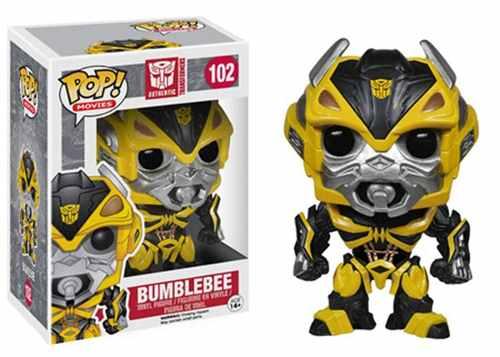 Funko - Figura Con Cabeza Móvil Bumblebee, Transformers