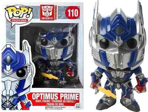 Funko Figura Con Cabeza Móvil Optimus Prime, Transformers