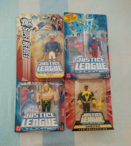 Jlu Justice League Unlimited Figura Muñeco Liga De La