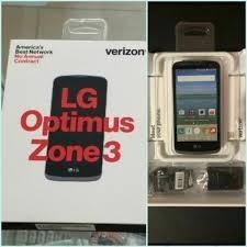 Lg Optimus Zone 3, 4g Lte Nuevo Con Forro Y Vidrio Templado!