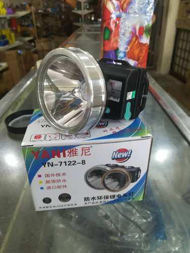 Linterna Lampara Minera Yani 7122 Original