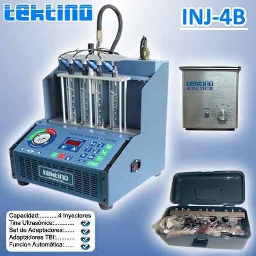 Maquina Limpieza De Inyectores (6 Inyectores) C/ultrasonido