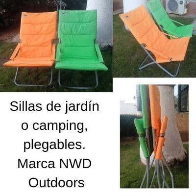 Sillas De Jardín O Camping Marca Nwd Outdoors