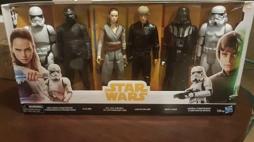 Star Wars Pack De 6 Figuras De 30 Cm. Hasbro Original