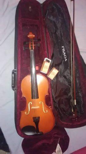 Violin 4/4 Marca Praga Con Estuche Y Forros Originales