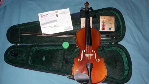 Violin Para Niños Marca Primer 3/4 Con Su Estuche + Cuerdas
