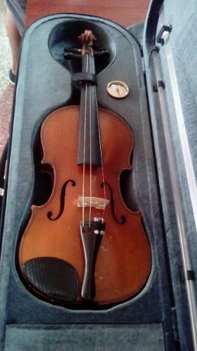 Violin Stradivarius 3/4 Cremona Con Estuche De Lujo
