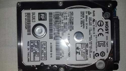 Disco Duro Hgst 500 Gb Laptop Usado