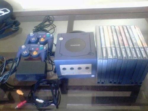 Excelente Consola De Nintendo Game Cube Usada Pero En Muy Bu