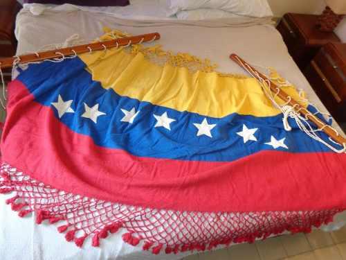 Hamaca Espectacular Tricolor 7 Estrellas Algodon