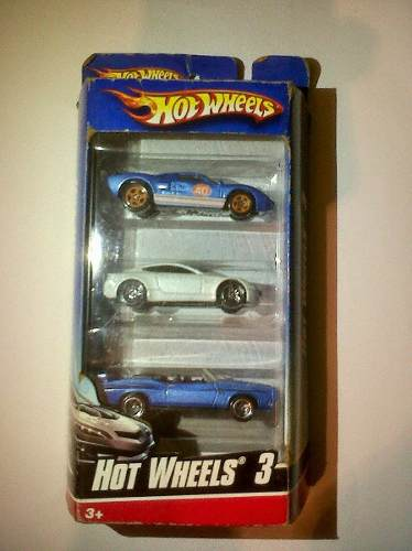 Hot Wheels Coleccion Set 3 Modelos Unicos Sellados