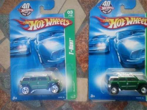 Hotwheels Treasure Hunt Rustico $pecial Y Regular New!!!