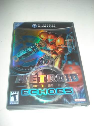 Juego De Coleccion Metroid Prime Echoes Nintendo Gamecube
