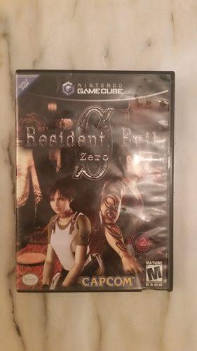 Juego Para Gamecube Resident Evil Zero