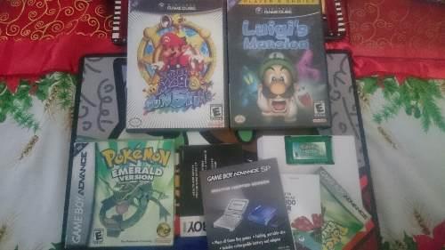 Juegos De Nintendo Gamecube Y Gameboy Para Cambiar