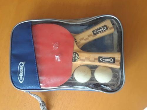 Kit Completo De Juego Para Ping Pong.marca Rudak.como Nuevo.