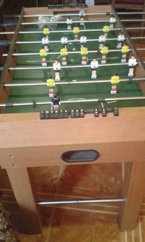 Mesa De Futbolito Como Nueva Con Sus Accesorios