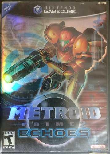 Metroid Prime 2 Echoes Gamecube Coleccion