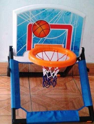 Set De Basketboll Mini Kit De Guindar En Puerta Para Niños