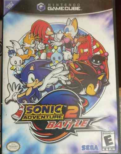 Sonic Adventure 2 Battle Gamecube Coleccion