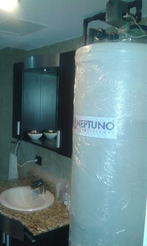 Tanque De Agua Cilíndricos Sistema Completo 250instalado