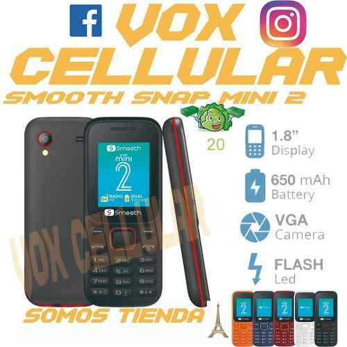 Telefono Basico Barato Smooth Snap Mini 2 Nuevo Dualsim