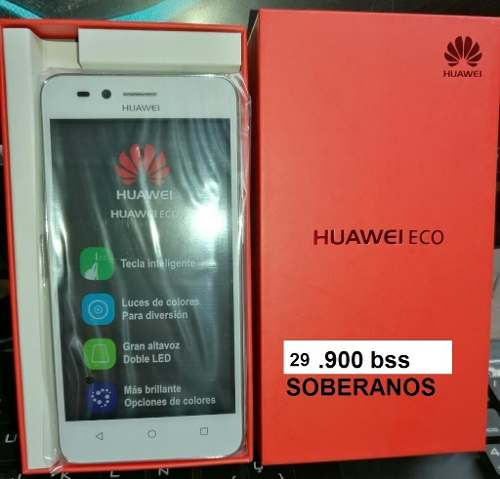 Telefono Huawei Eco./4g Liberados.nuevos