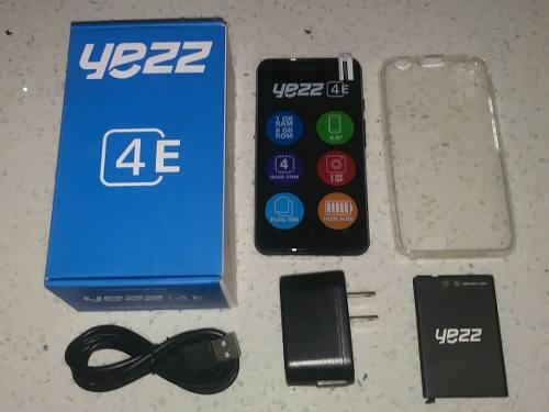 Telefono Yezz 4e. 8gb 1gb Ram. Forro Y Vidrio. L E E R 55vds