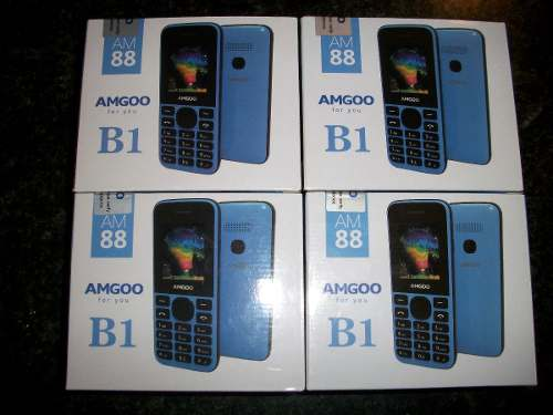 Teléfono Basico Amgoo Am88 Dual Sim Liberado Nuevo