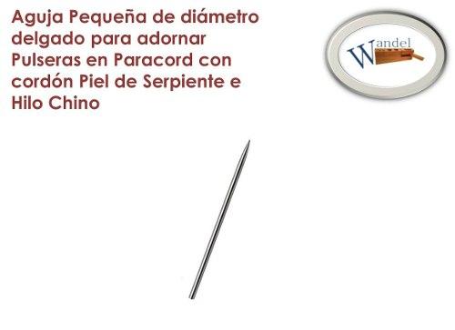 Aguja Adorno Puleras Paracord Hilo Chino/piel De Serpiente