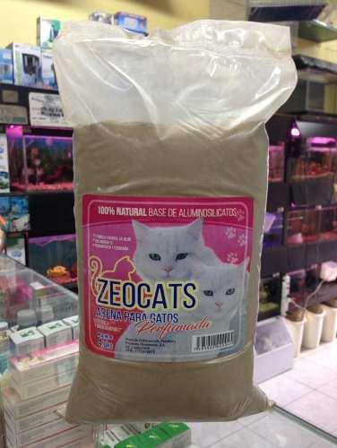 Arena Para Gatos Zeocats Perfumada 4 Kg