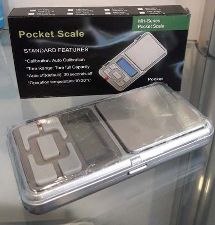 Balanza 500 Gr Peso O Gramera Pocket Scale