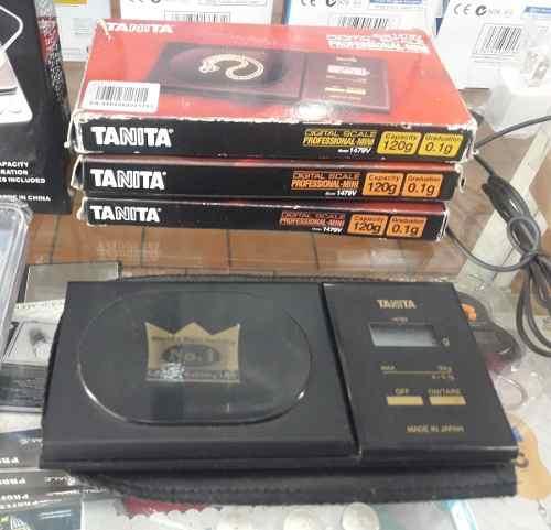 Balanza Digital Tanita 0.1 A 120g Oro Somos Tienda!