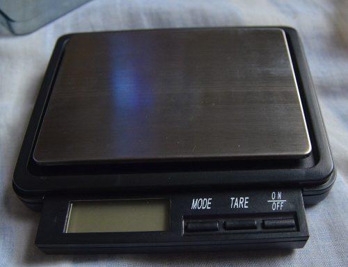 Balanza Peso Digital 500 Gramos