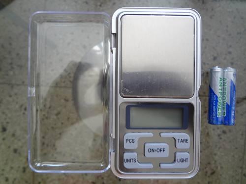 Balanza Peso Digital Para Joyas Monedas Hasta 200 Gramos