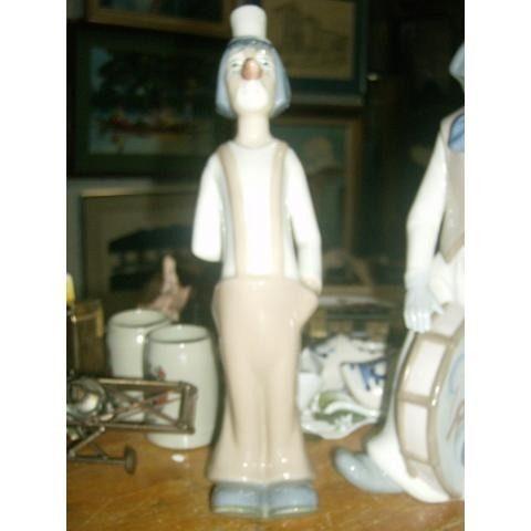 Figura De Porcelana El Payaso Marca Casades En Perfecto Esta