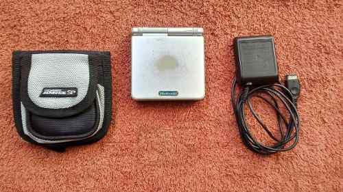 Game Boy Advance Sp Ags-001 Plateada