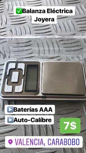 Gramera Balanza Digital Peso Joyería De 0,1 A 500gr