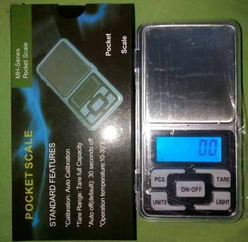 Gramera Peso Balanza Digital Joyería De 0,1 A 500 Gr