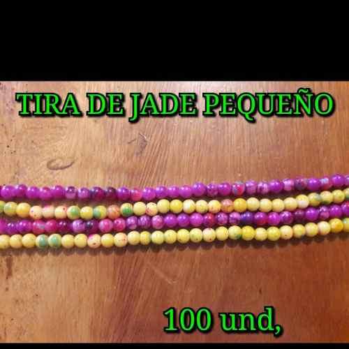 Jade De 6 Mm, Por Tiras De 100 Und, Para Bisuteria