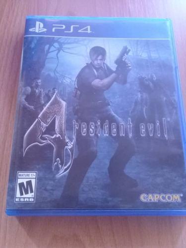 Juego Resident Evil 4 Para Ps4 Nuevo
