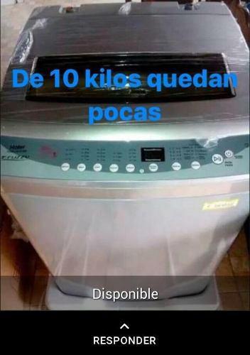 Lavadora Automática De 10 Kilos Color Gris