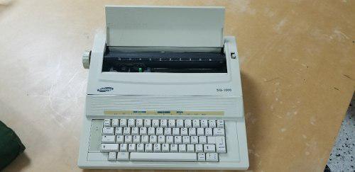Maquina De Escribir Electrica Samsung