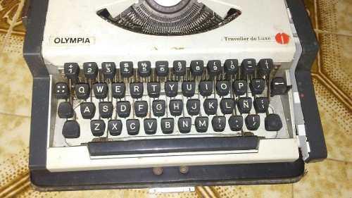 Maquina Escribir Olympia Para Restaurar Ideal Coleccionista